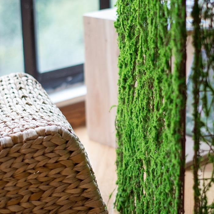 Artificial Moss Screen Panel RusticReach