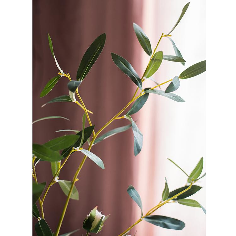 Artificial Olive Leaf Stem RusticReach