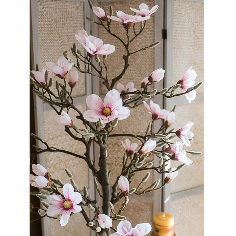 Artificial Pink Magnolia Tree RusticReach