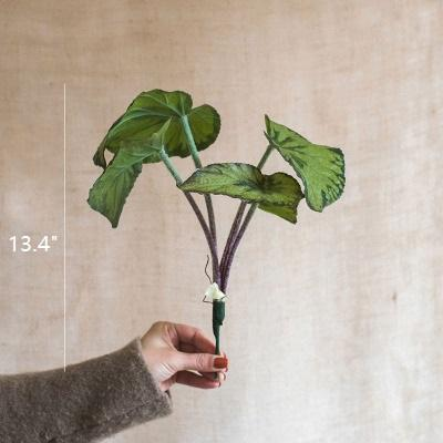 Artificial Plant Faux Begonia Leaf RusticReach