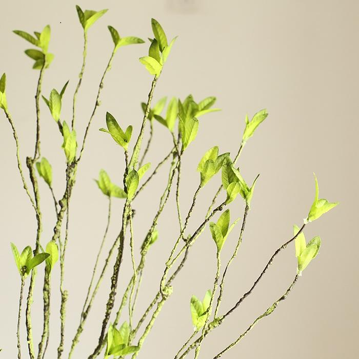 "Artificial Malus Baccata Stem in Green 22"" Tall"