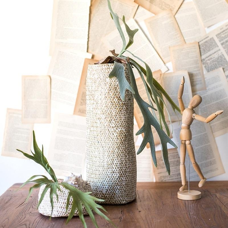 Artificial Plant Staghorn Fern Décor RusticReach