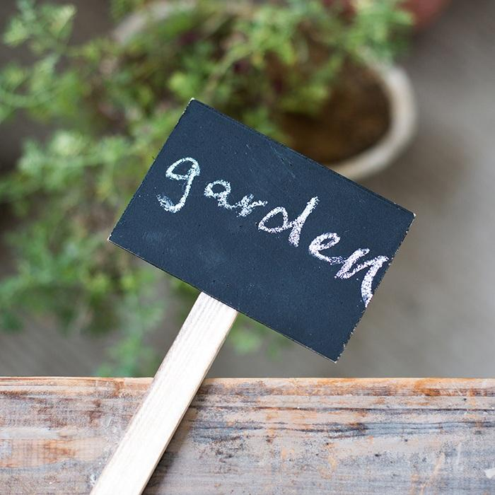 "Chalkboard Sign for Flower Shop or Garden 24"" Tall Set of 6 RusticReach"