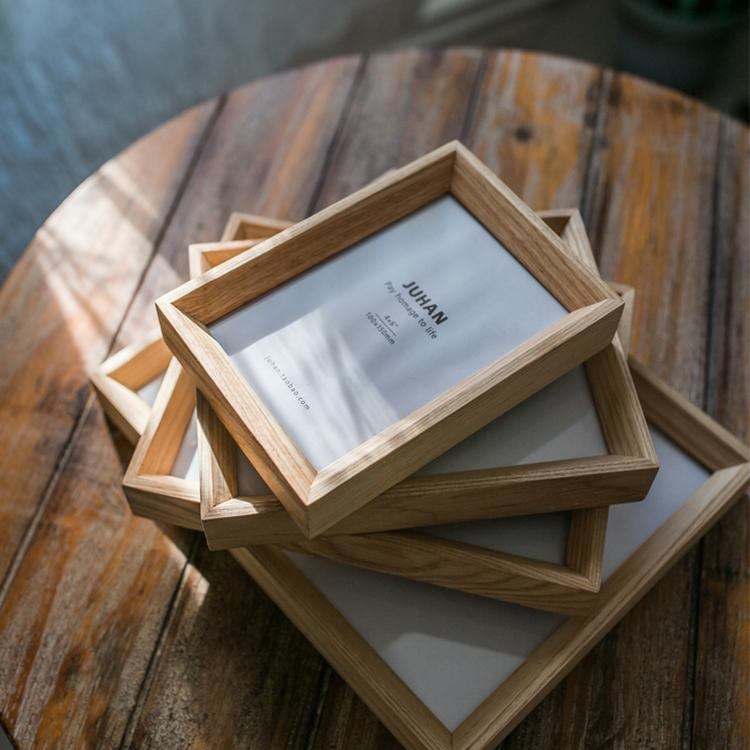 Desktop Solid Wood Photo Frame RusticReach
