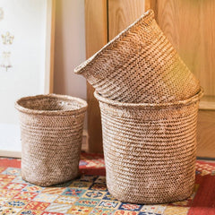 Round Straw Basket