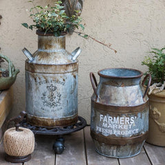 Rusty Metal Barrel
