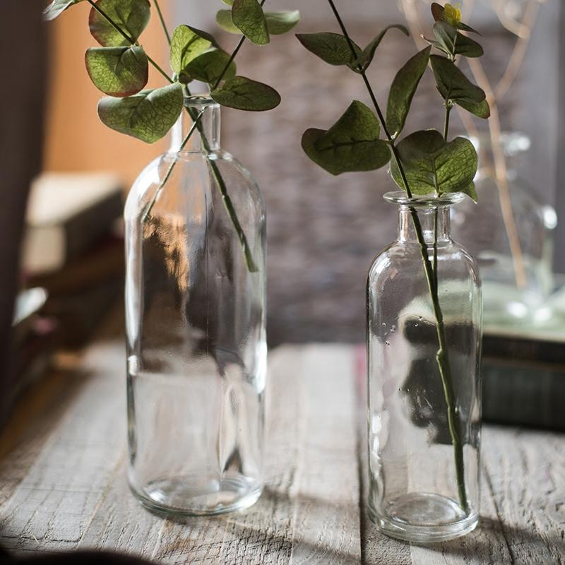 Small Opening Glass Vase RusticReach