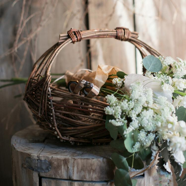 Willow Carry Basket Fruit Basket Veggie Basket RusticReach