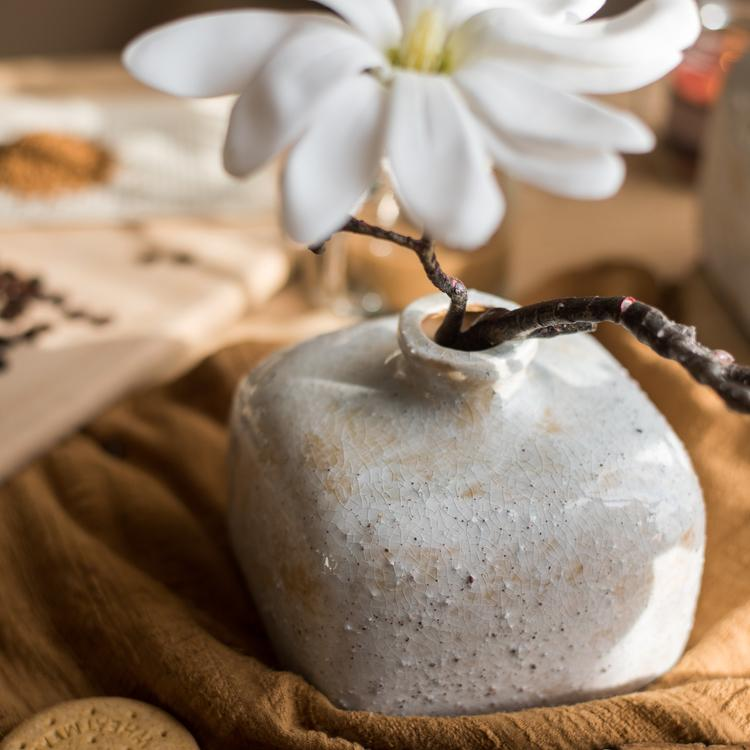 Zen Style Ceramic Vase RusticReach