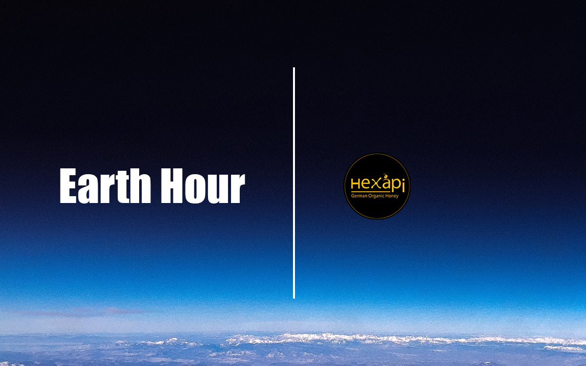 Celebrate Earth Hour with Hexapi Honey and switch off your lights tonight.