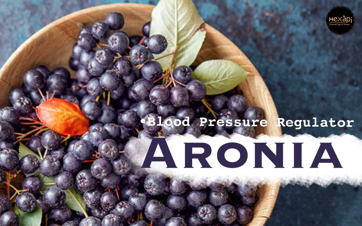 Aronia Honey | Benefits to our blood pressure? | How does it works? | Hexapi Organic Raw Honey