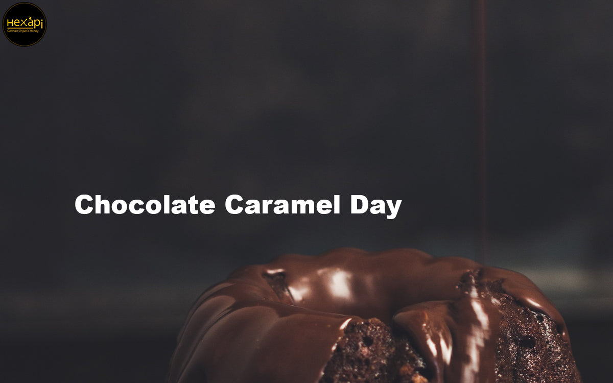 Celebrate Chocolate Caramel Day with Organic Honey & Chocolate, Nuts, Vanilla