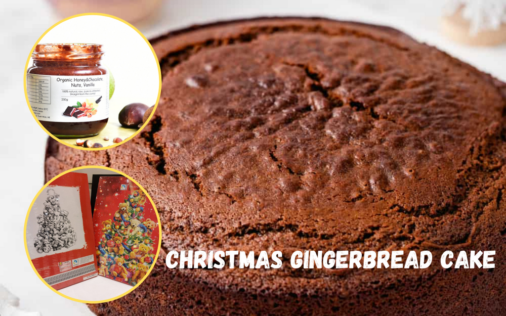 Christmas Promotion - Christmas Gingerbread Cake