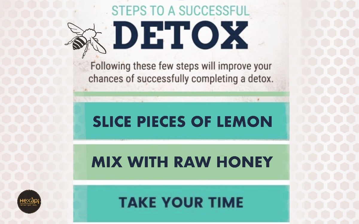 Detoxification | Organic Honey and Lemon | Hexapi Raw Organic Honey Hong Kong