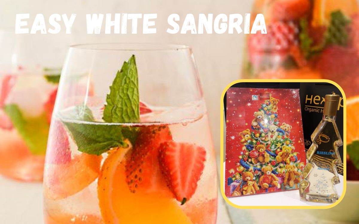 Christmas Promotion - Easy White Sangria