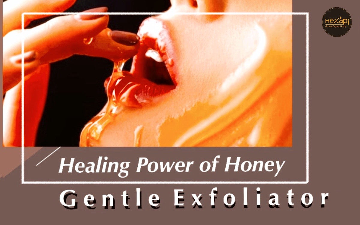 Beauty Power of Hexapi Honey | Gentle Exfoliator