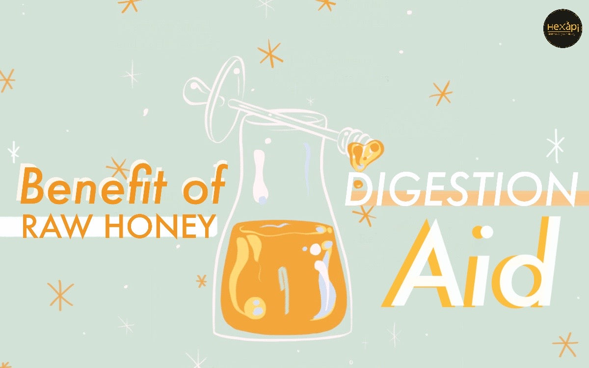 Digestion Aid | Hexapi Honey