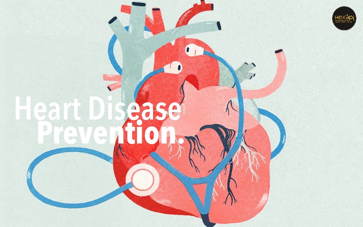 Heart Diseases Prevention | Hexapi Organic Raw Honey