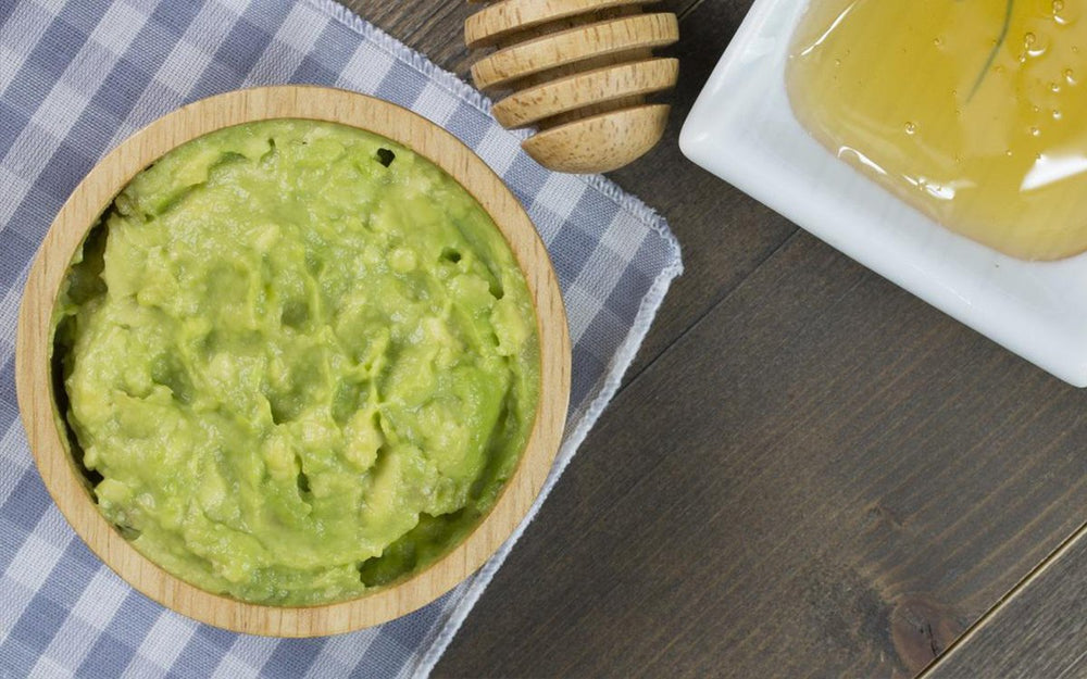 Honey Guacamole with Organic Honey & Lemon