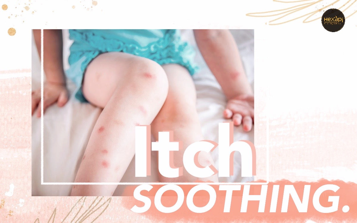 Itch Soothing | Hexapi Organic Raw Honey