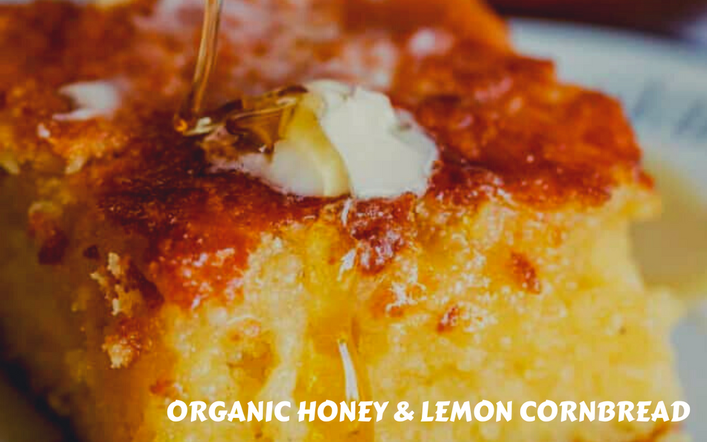 Organic Honey & Lemon Cornbread