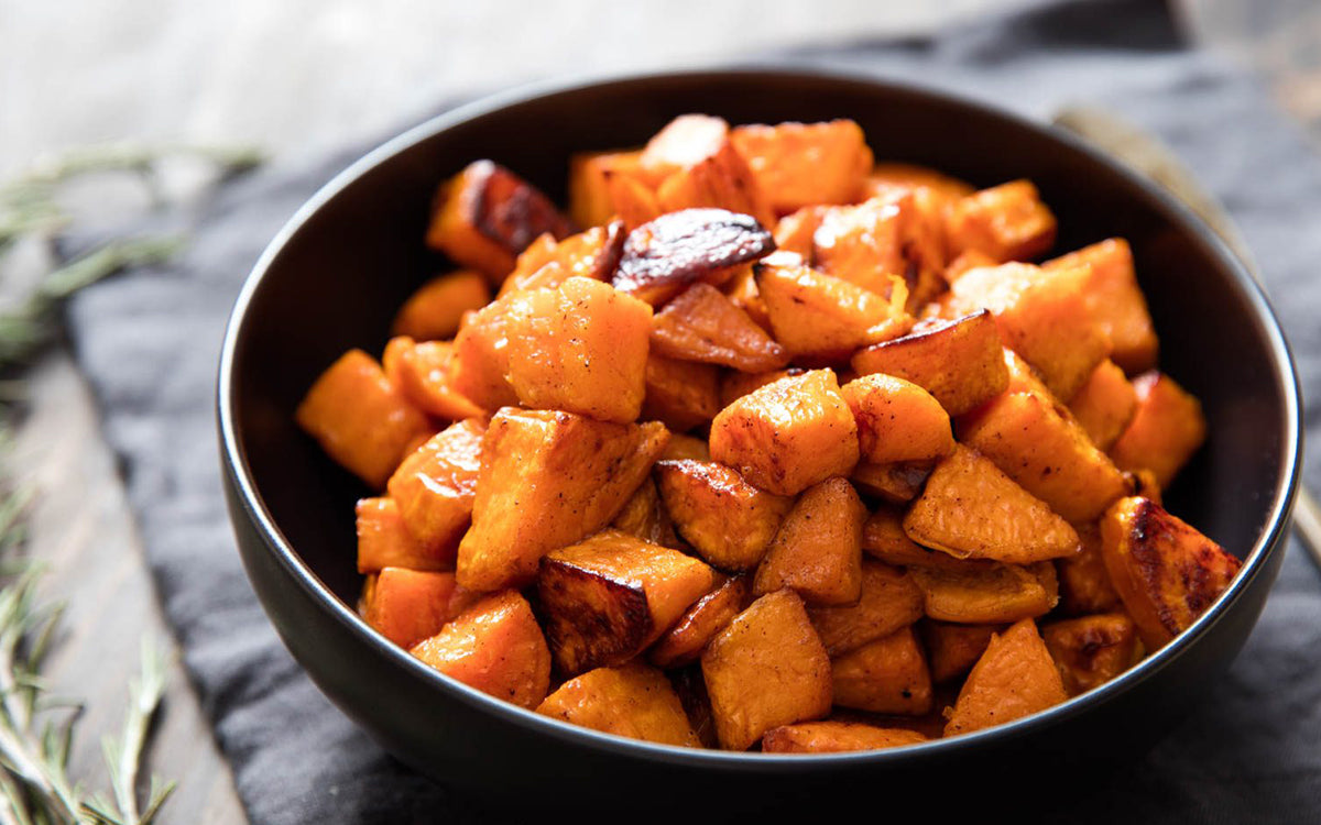 Roasted Honey Sweet Potatoes