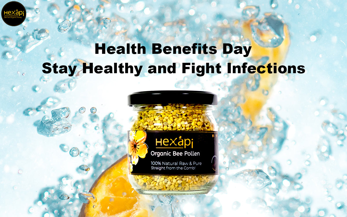 Stay Healthy and Fight Infections with German Organic Bee Pollen