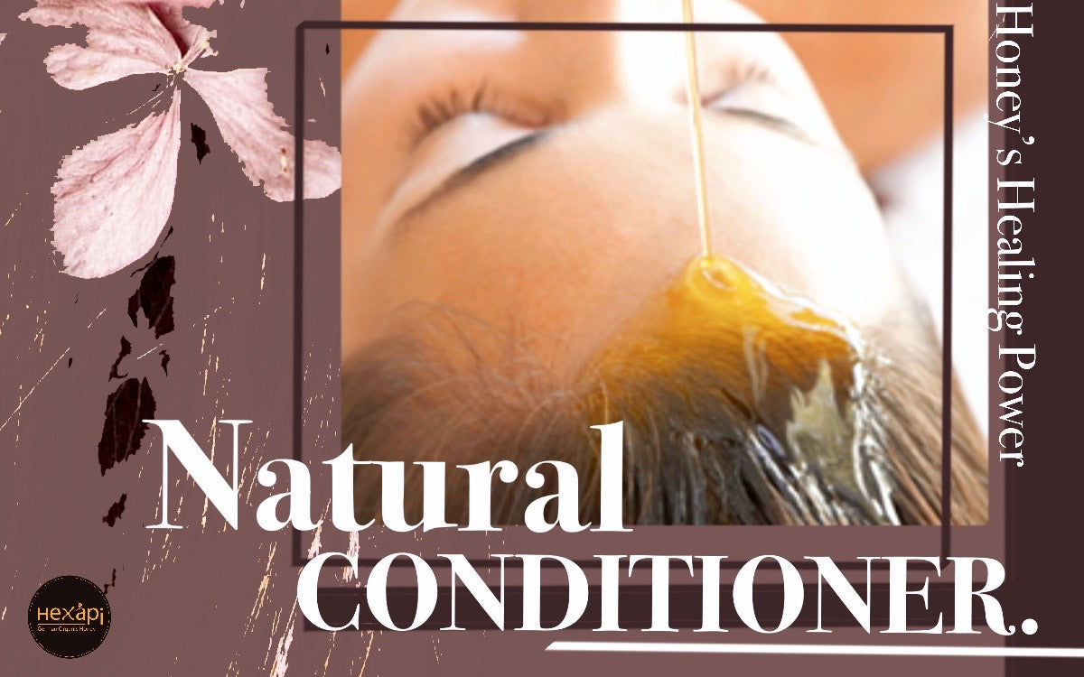 Beauty Power of Honey | Natural Hair Conditioner