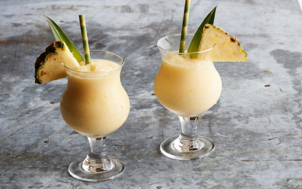 Pina Colada with Organic Mild Summer Honey Wine