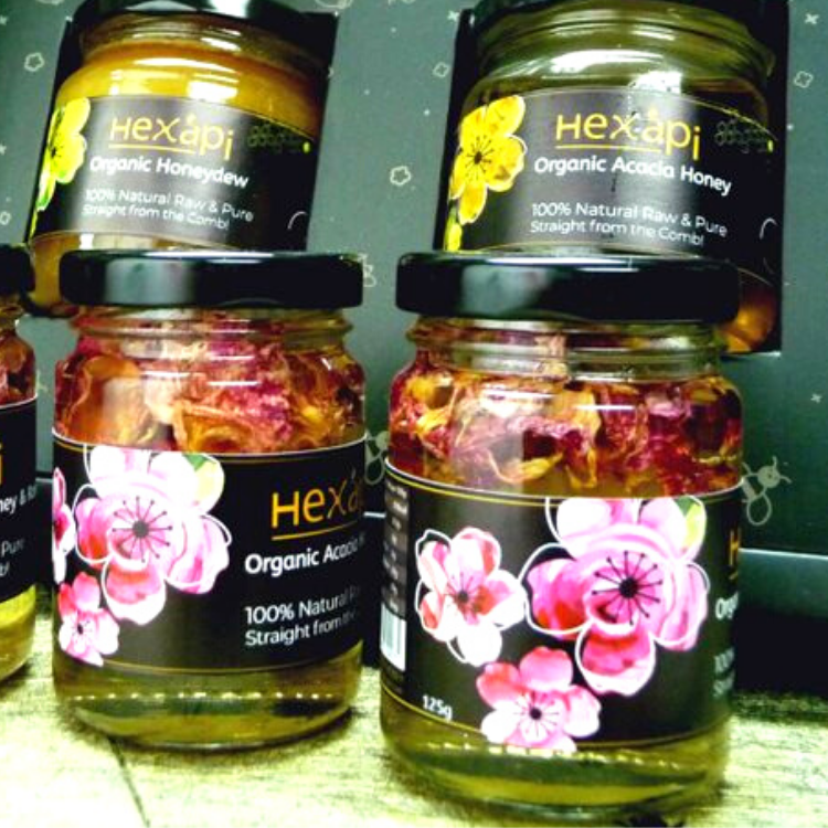 Chinese New Year Edition - Sweet Rose Honey Gift Set A