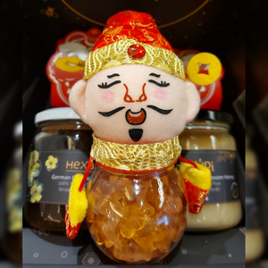 Chinese New Year Edition - Welcoming of the God of Fortune with Honey Gummy Bear(150g)