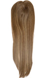 Yaffa Wigs Finest Quality Long Soft Brown Blonde Mito Topper 100% Human Hair