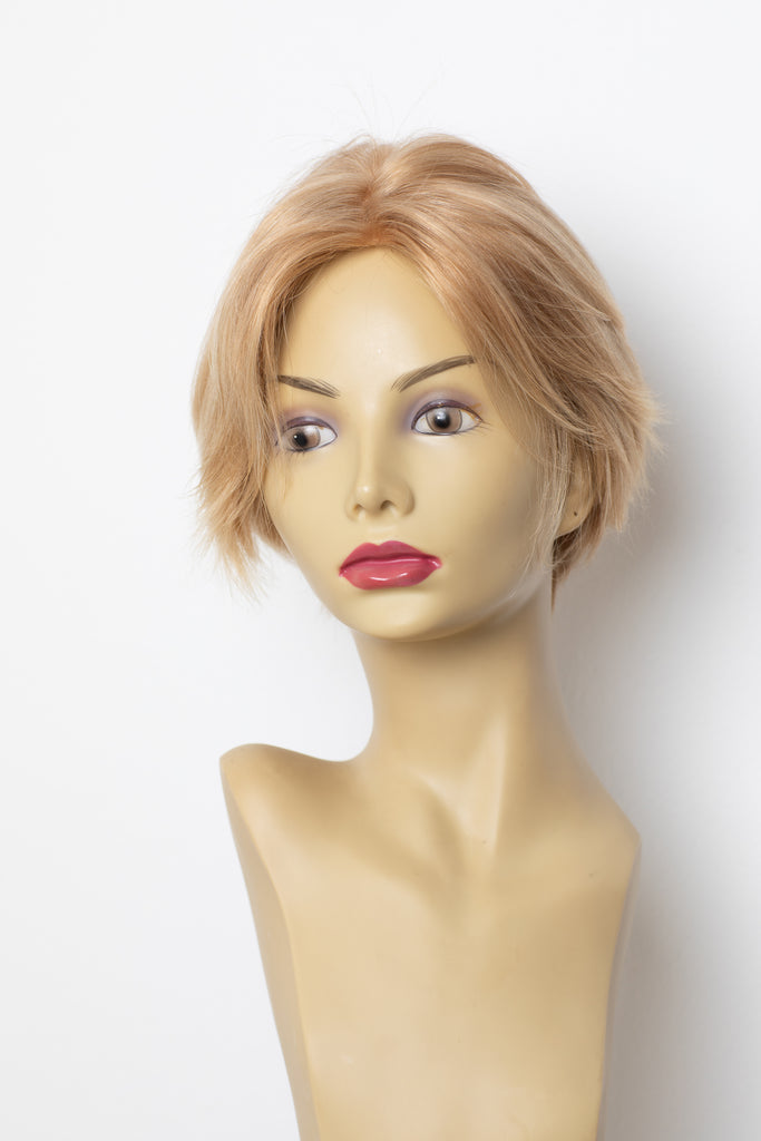 Yaffa Wigs Finest Quality Light Gold Blond Hair 100% Virgin Human European Hair