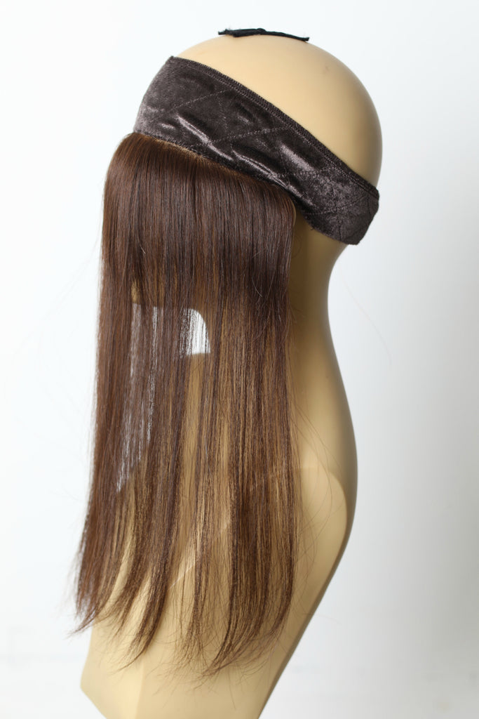 Yaffa Wigs Finest Quality Lace Front GRIP Brown 100% Human Hair