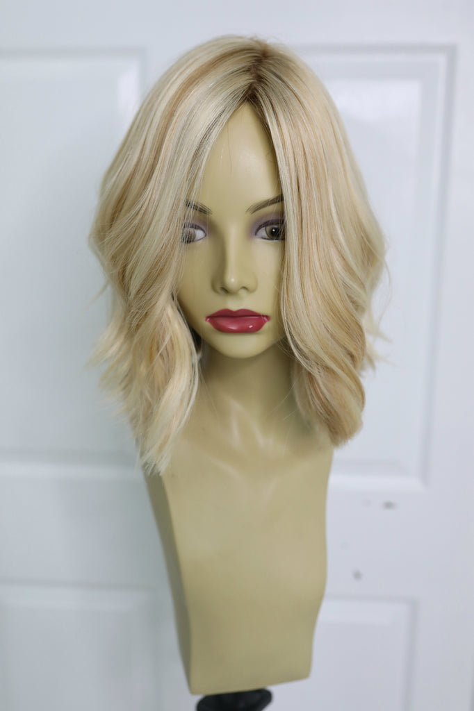 Yaffa Wigs Highest Quality Short Blond 100% Virgin European Human Hair
