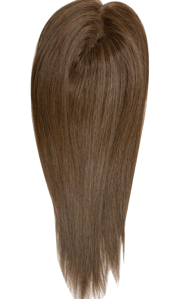 Yaffa Wigs Finest Quality Long Brown Mito Topper 100% Human Hair