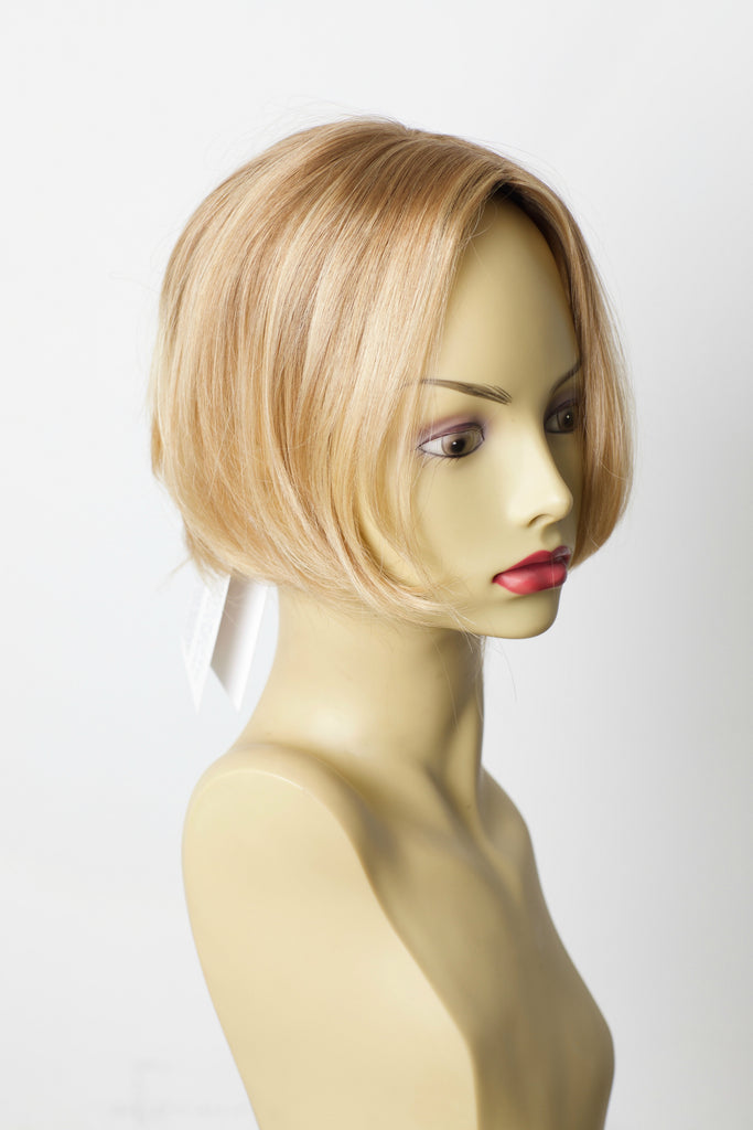 Yaffa Wigs Finest Quality Blond Topper 100% Virgin European Human Hair