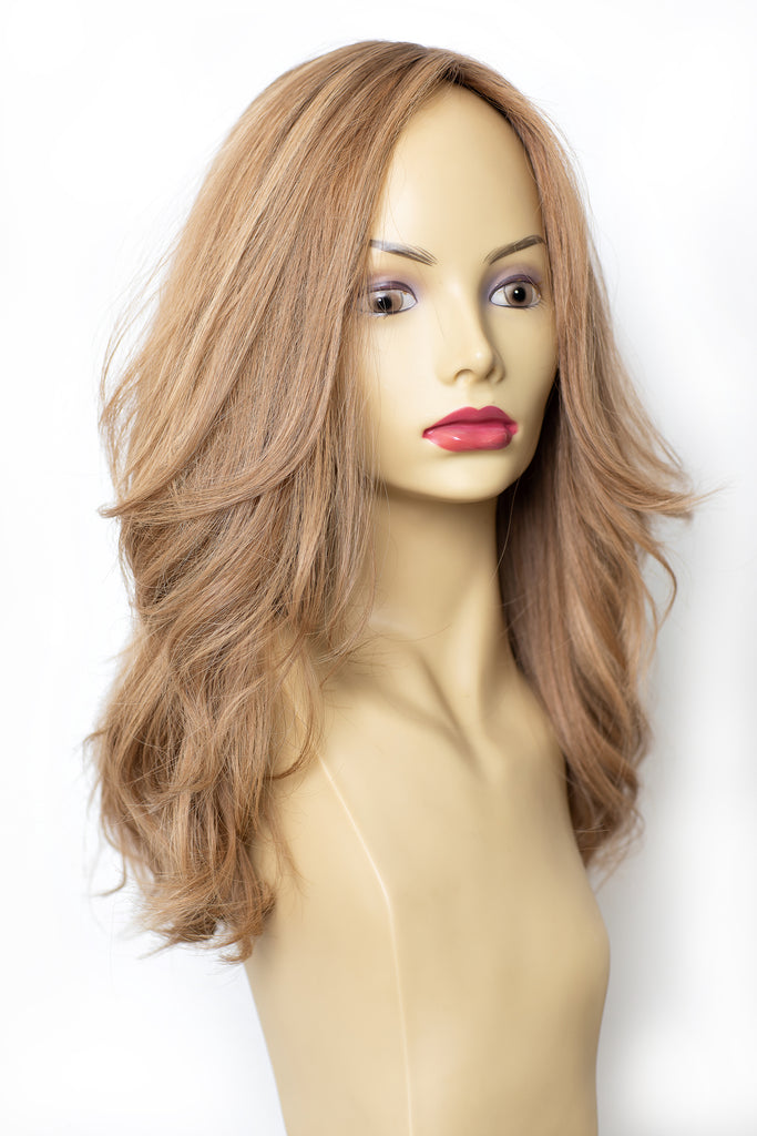 Yaffa Wigs Finest Quality Dirty Blond Hair 100% Virgin Human European Hair