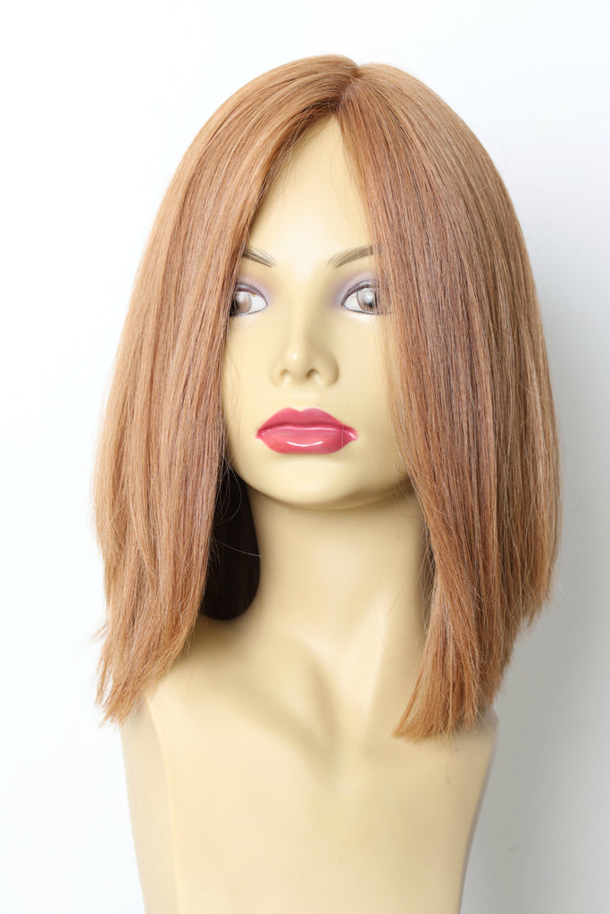 Yaffa Wigs Finest Quality Light Red Short 100%Virgin Human European Hair
