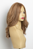 Yaffa Wigs Finest Quality Honey Blond W/Highlights  100% Virgin Human European Hair
