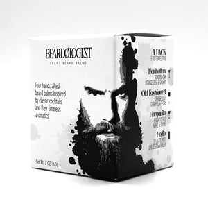 The Beardologist Signature Craft Beard Balm Travel Pack - Beardologist