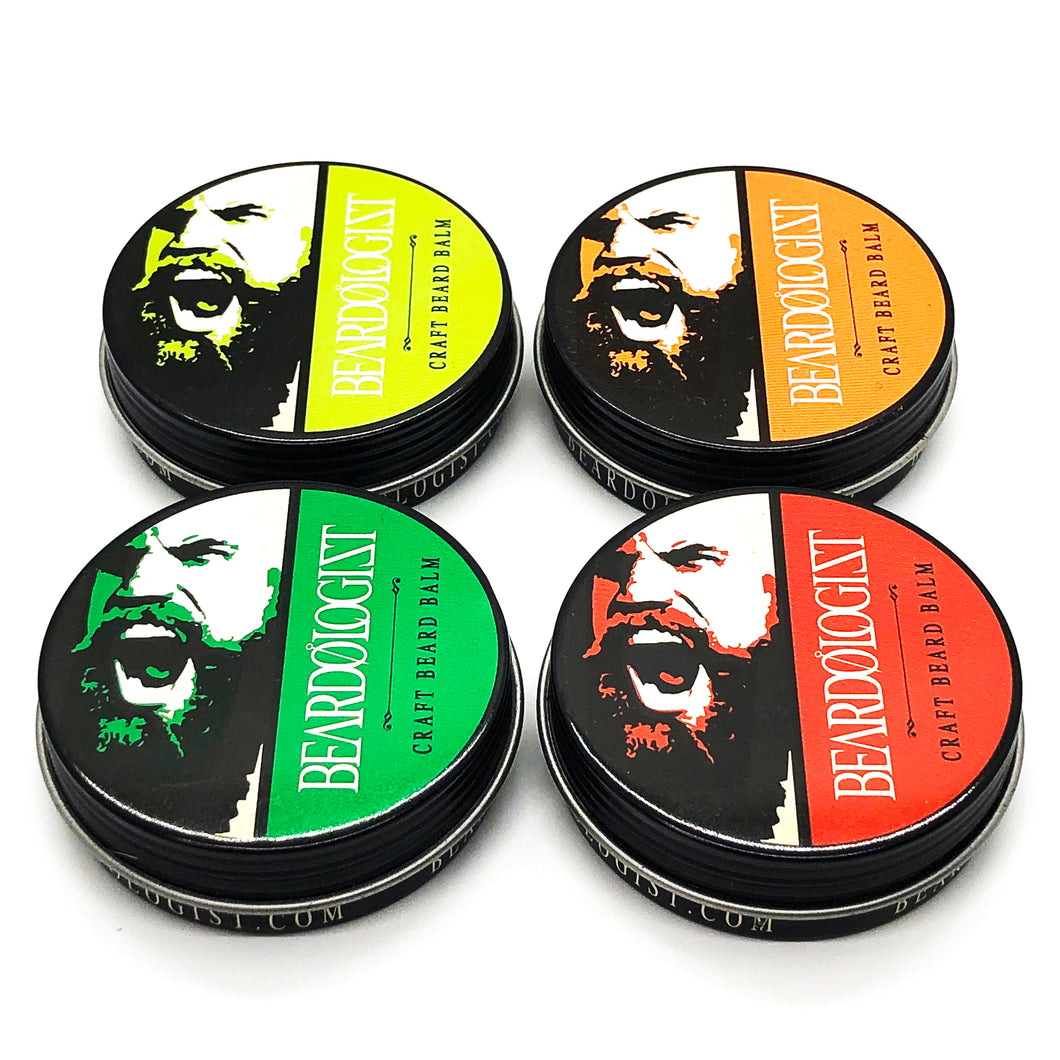 The Beardologist Signature Craft Beard Balm 4Pack - Beardologist