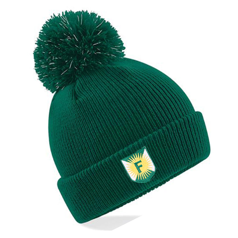 Foulds Reflective Bobble Beanie
