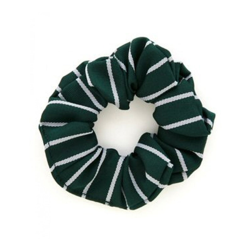 Foulds Woven Striped Scrunchie