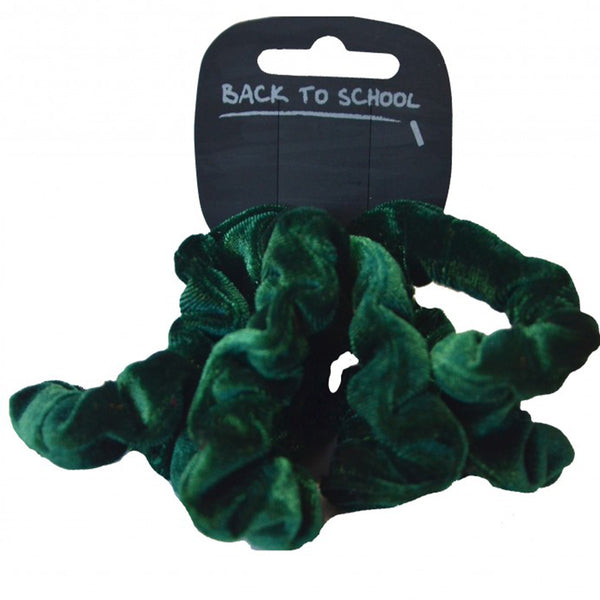 Velvet Mini Scrunchie 3 Pack