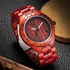 Attimo Wooden Watch