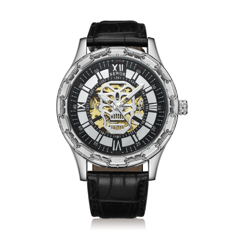 Temporal Skull Watch