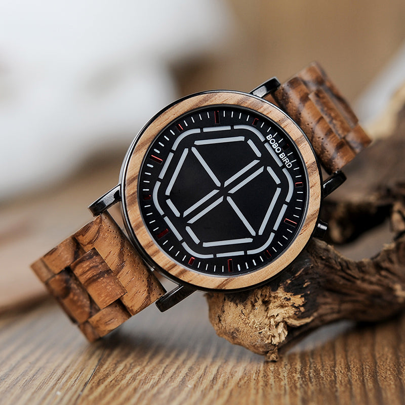 Creation Wooden Watch