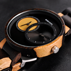 Gleam Wooden Watch