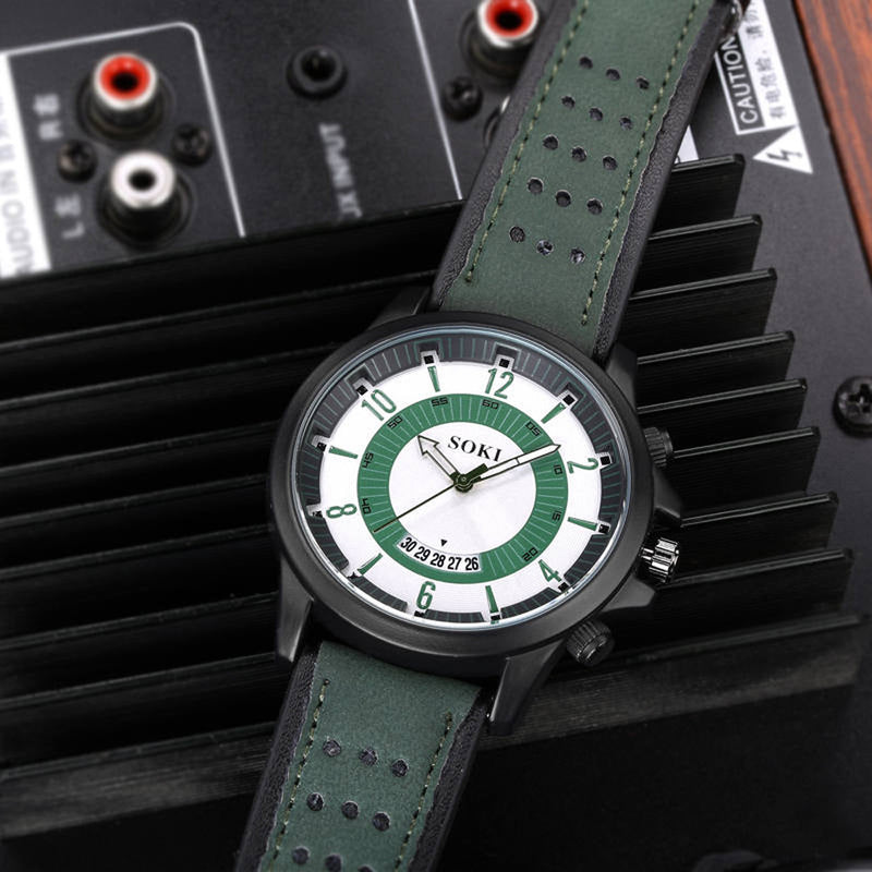 Fiery Military Watch